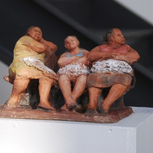 www.herrero-arte.com Cecilia Herrero-Laffin Cecilia Herrero-Laffin Arte Skulpturen Esculturas Pinturas Bilder Frauen Mujeres Trabajo Arbeit Kunst Malerei Arbeiterinnen Trabajadoras