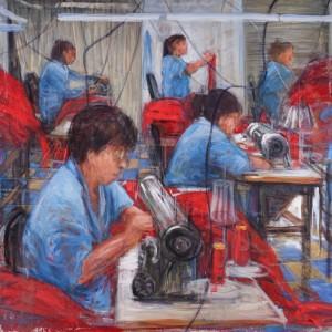 Cecilia Herrero-Laffin Cecilia Herrero-Laffin Arte Skulpturen Esculturas Pinturas Bilder Frauen Mujeres Trabajo Arbeit Kunst Malerei Arbeiterinnen Trabajadoras