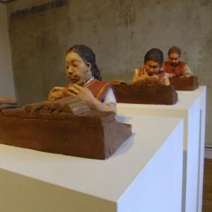 Cecilia Herrero-Laffin Arte Skulpturen Esculturas Pinturas Bilder Frauen Mujeres Trabajo Arbeit Kunst Malerei Arbeiterinnen Trabajadoras